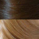#3- 27 Dark Medium Brown to Strawberry Blonde Ombre'