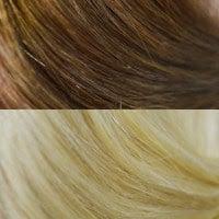 #8-22 Medium Ash Brown-Light Blonde Ombre'