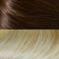 #4-613 Medium Brown to Platinum Blonde Ombre'