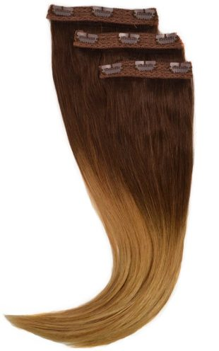 ombre clipin extensions