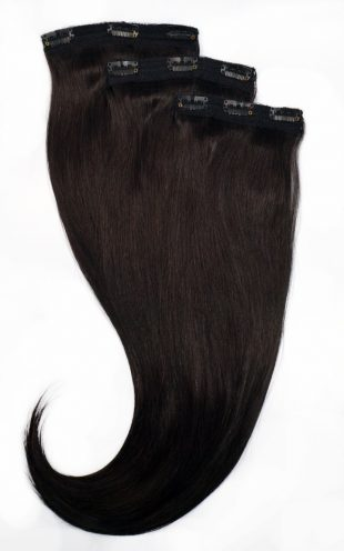 Solid Color Clip-in Hair Extensions